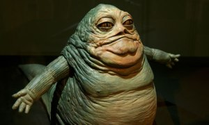 Sometimes during bloaty times I feel like Jabba the hutt