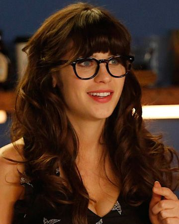 jessica day hair styles are glasses as cool and as fringe fashion trends say 7161 | glassesnew
